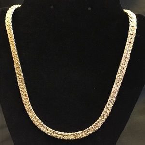 """Jewelry - Vintage 24"""" Gold Tone Chain Necklace"""